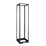Tripp Lite SR4POST 45U SmartRack 4-Post Open Frame Rack, 1000 lbs (453.6 kgs) Capacity - Organize and Secure Network Rack Equipment