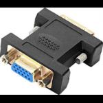 SPEEDLINK SL-170009-BK cable interface/gender adapter DVI VGA Black