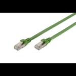 ASSMANN Electronic DK-1644-A-PUR-010 cable de red 1 m Cat6a S/FTP (S-STP) Verde