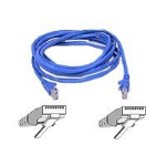 Belkin Patch cable - RJ-45(M) - RJ-45(M) - 15m - UTP ( CAT 5e ) - blue