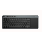 RAPOO K2600 Wireless Touch Keyboard - 2.4Ghz Wireless Connection/Multi-media hotkeys/ Compact Design/Touch