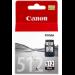 Canon PG-512 cartucho de tinta 1 pieza(s) Original Negro