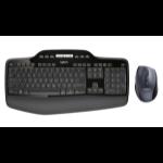 Logitech MK710 Tastatur RF Wireless QWERTZ Schweiz Schwarz