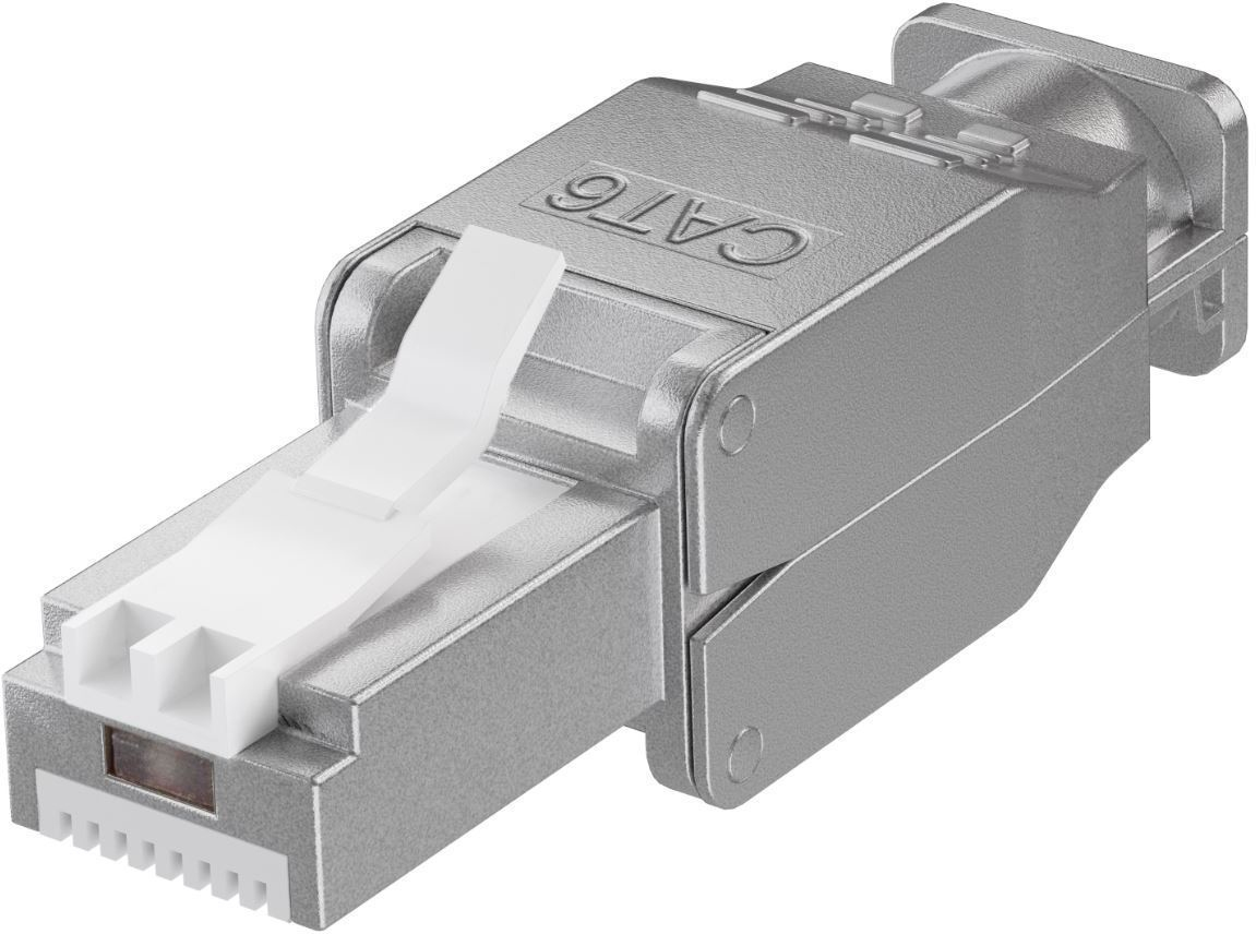 Microconnect KON522TL wire connector RJ45 Silver