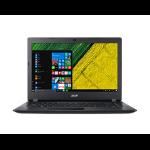 """Acer A315-41 Black Netbook 39.6 cm (15.6"""") 1920 x 1080 pixels AMD Ryzen 3 4 GB DDR4-SDRAM 256 GB SSD Wi-Fi 5 (802.11ac) Windows 10 Home"""