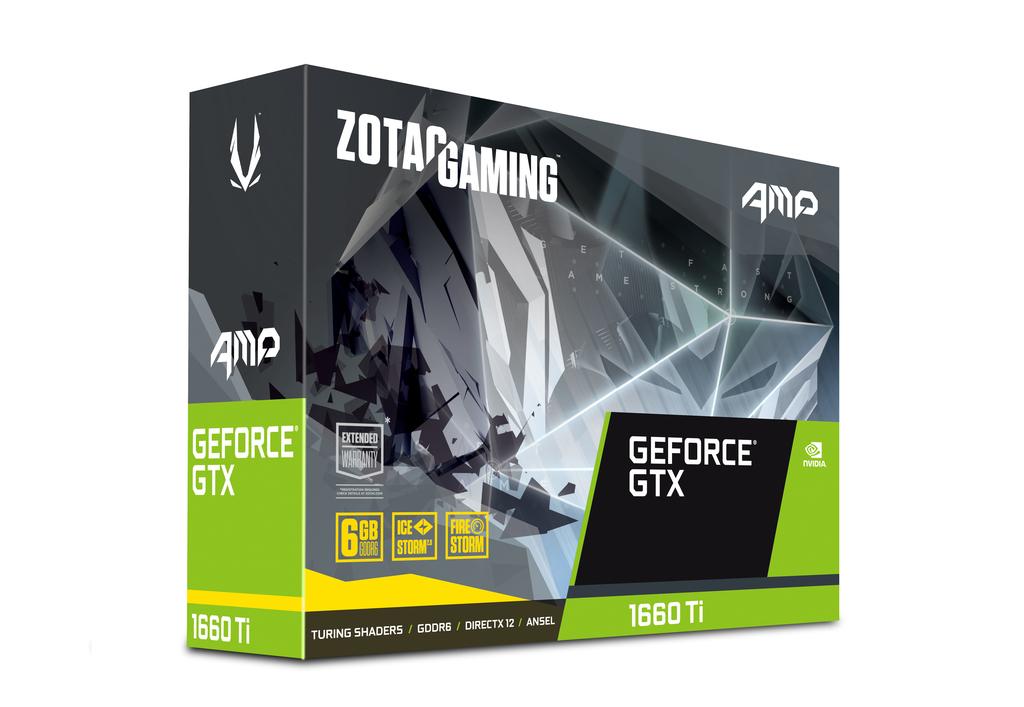 Zotac ZT-T16610D-10M graphics card GeForce GTX 1660 Ti 6 GB GDDR6