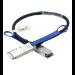 Mellanox Technologies MCP7F00-A003 cable infiniBanc 3 m QSFP28-4xSFP28 Hybrid Negro, Azul