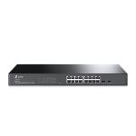 TP-LINK JetStream 16-Port Gigabit Smart Switch with 2 SFP Slots