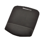 Fellowes PlusTouch Black mouse pad