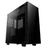 anidees AI Crystal Lite Full-Tower Black computer case