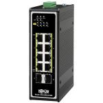 Tripp Lite NGI-U08C2POE8 network switch Unmanaged Gigabit Ethernet (10/100/1000) Power over Ethernet (PoE) Black