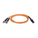 Tripp Lite Duplex Multimode 62.5/125 Fiber Patch Cable (MTRJ/ST), 2M (6-ft.)
