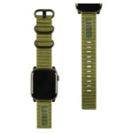 Urban Armor Gear Nato Grupo de rock Verde Nylon, Acero inoxidable