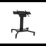 """Peerless SC560FK flat panel floorstand 165.1 cm (65"""") Portable flat panel floor stand Black"""