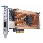 QNAP QM2-2S10G1T interface cards/adapter SATA Internal