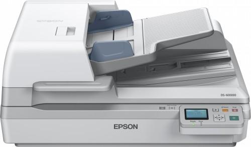 Epson WorkForce DS-60000N Flatbed & ADF scanner 600 x 600 DPI A3 White