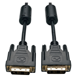 Tripp Lite DVI Single Link Cable, Digital TMDS Monitor Cable (DVI-D M/M), 0.91 m (3-ft.)