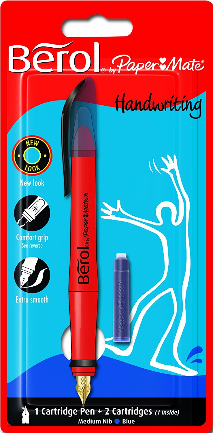 Berol CART PEN BLISTER BLUE 101-4826