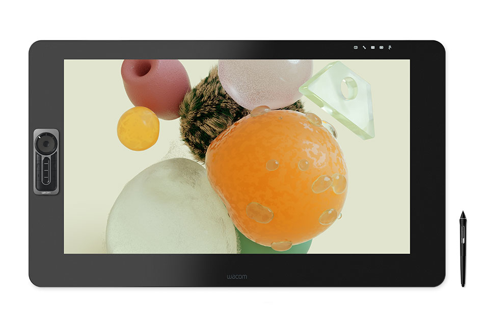 Wacom Cintiq Pro 32 graphic tablet Black 5080 lpi 697 x 392 mm