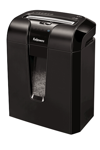 Fellowes 63Cb Cross shredding Black paper shredder