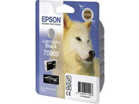Epson Husky Cartucho T0969 gris claro
