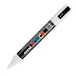Uni Posca PC-5M Marker Medium White PK1