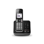 Panasonic KX-TGD320E DECT Caller ID Black,Silver