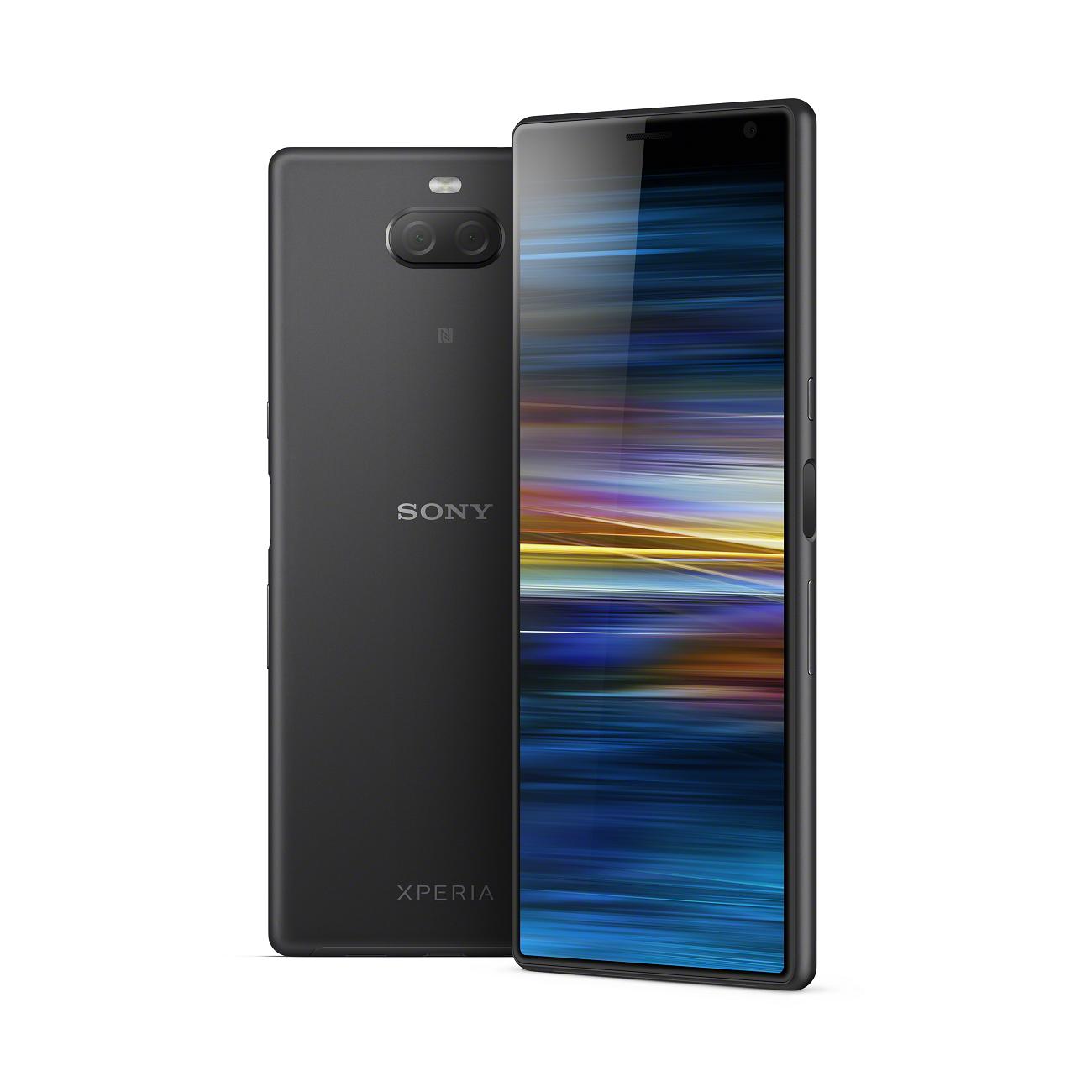 """Sony Xperia 10 Plus 16,5 cm (6.5"""") 4 GB 64 GB Dual SIM Zwart 3000 mAh"""
