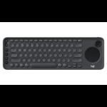Logitech K600 keyboard Bluetooth Black