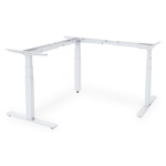 Digitus DA-90386 standing desk frame Electric 3 leg(s) White