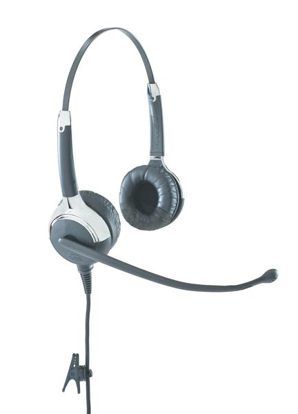 VXi UC ProSet LUX 5031U+ Binaural Head-band Black,Grey headset