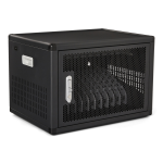 V7 CHGSTA12USBCPD-1E portable device management cart/cabinet Black