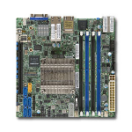 Supermicro X10SDV-8C-TLN4F server/workstation motherboard BGA 1667 Mini-ITX
