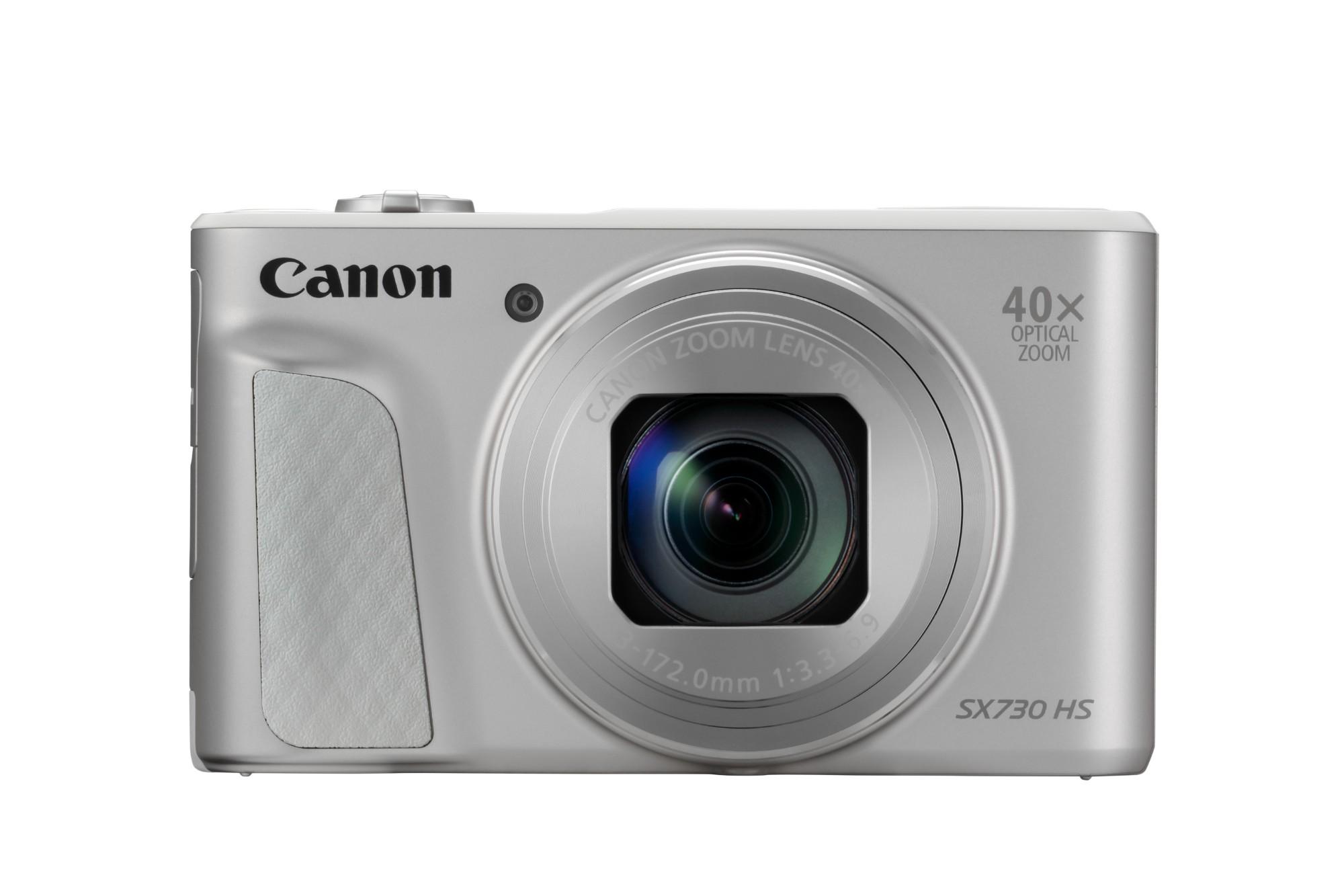 "Canon PowerShot SX730 HS Compact camera 20.3 MP CMOS 5184 x 3888 pixels 1/2.3"" Silver"