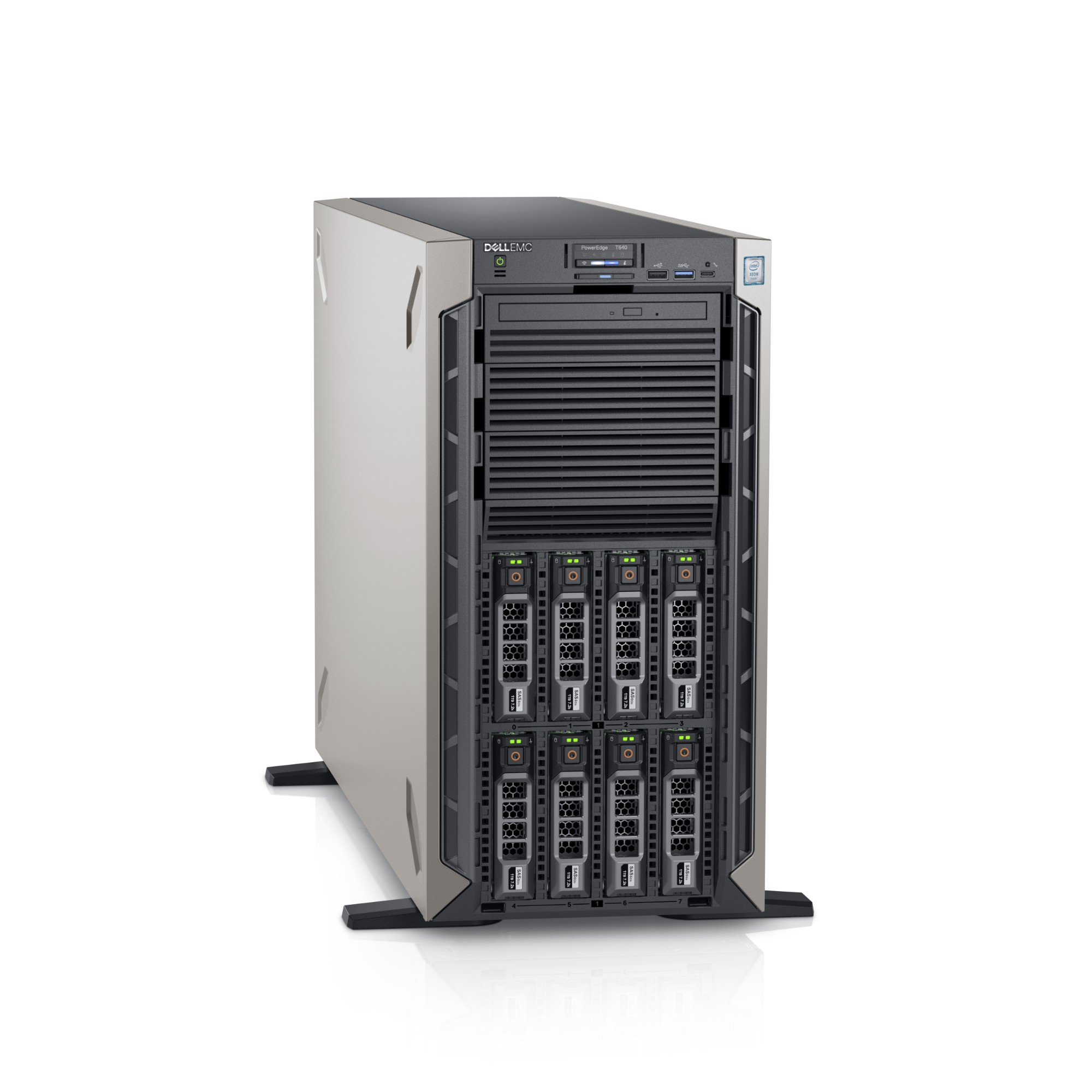 DELL T640 server 2 1 GHz Intel® Xeon® 4110 Tower (5U) 750 W