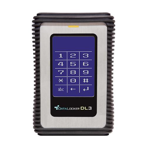 DataLocker DL2000V3 external hard drive 2000 GB Black,Grey