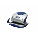 Rexel Precision 215 2 Hole Punch Silver/Blue
