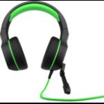 HP Pavilion Gaming 400 headset Binaural Head-band Black,Green