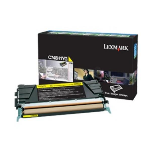 Lexmark C748H3YG Toner yellow, 10K pages