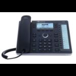 AudioCodes 440HD IP phone Black 6 lines LCD