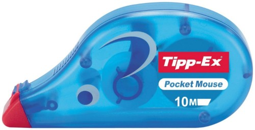TIPP-EX Pocket Mouse correction tape Blue 10 m 10 pc(s)