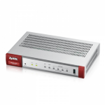 ZyXEL ZyWALL USG20-VPN-EU0101F Ethernet LAN Grey,Red wired router