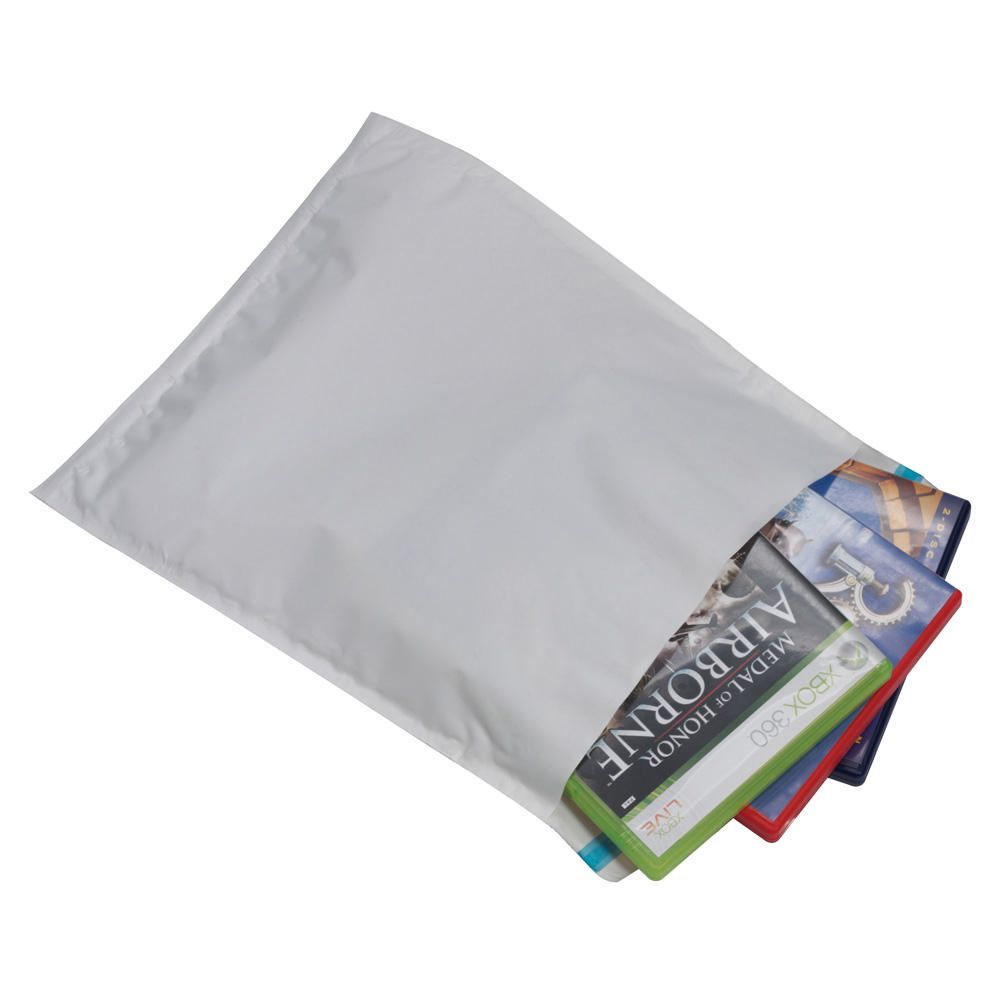 PostSafe Postair Lightweight Poly Padded Envelope WT 350x470mm PK50