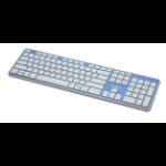 Lian Li KB-01 W-BU USB + Bluetooth UK English Blue keyboard