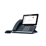 Yealink T56A Teams Edition IP phone Grey Wired handset