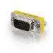C2G HD15 VGA M/F Mini Port Saver Adapter