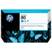 HP C4846A (80) Ink cartridge cyan, 4.4K pages, 350ml
