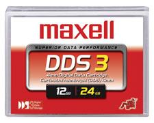 Data Cartridge Dds-3 4mm 125m 12GB
