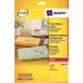 Avery L7560-25 printer label Transparent