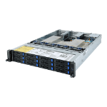 Gigabyte R282-Z90 server barebone Socket SP3 Rack (2U) Black